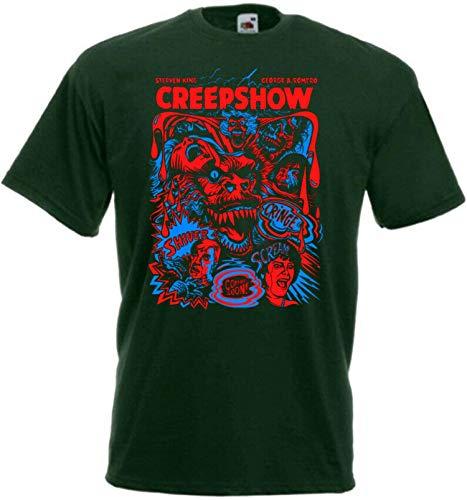 Unisex Creepshow v4 T-Shirt Movie George A. Romero Graphic Shirts