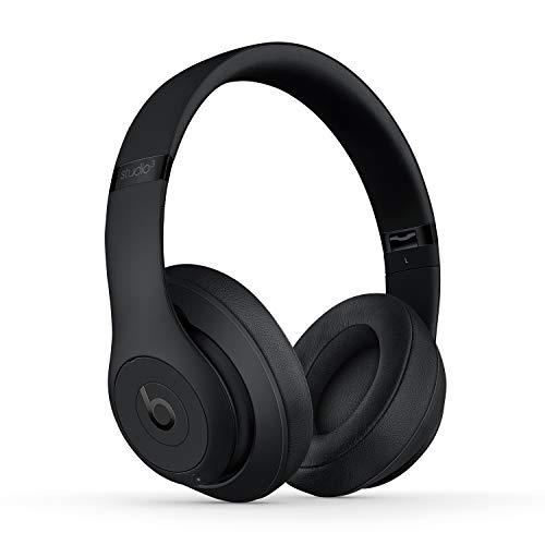 BeatsStudio3Wireless con cancelación de Ruido - Auriculares supraaurales - Chip Apple W1, Bluetooth de Clase1, 22Horas de Sonido ininterrumpido - Negro Mate