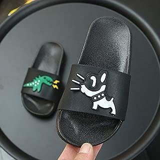 Kids Slides Home Slippers Fluffy Slides Indoor Summer Flat Sandals Flip Flops Brand Luxu Girls Shoes 2019 Size 24-35