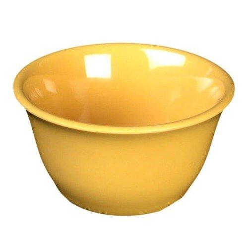 Yellow Melamine 7 Oz. Bouillon Cup - 4' Dia NSF [Box of 12]