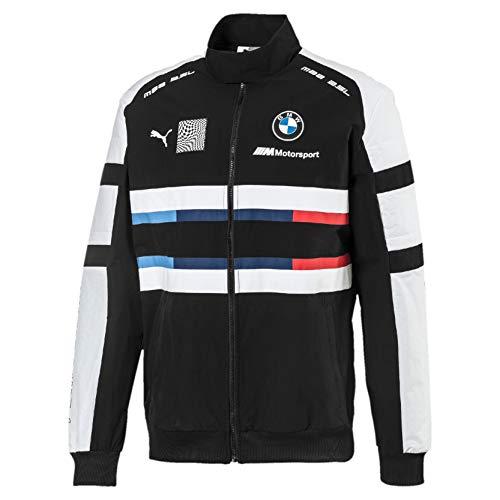 PUMA BMW Motorsport Street Herren Gewebte Jacke Puma Black XS