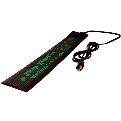 Jump Start Heat Mat 3quot x 20quot Inches MT10004 Waterproof Durable 73 Watt UL Certified Seedling 3quotx20quot 73W