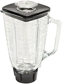 Brentwood P-OST722 Replacement Jar Set, Oster Blender Compatible, 0.33 Gallon Capacity transparent