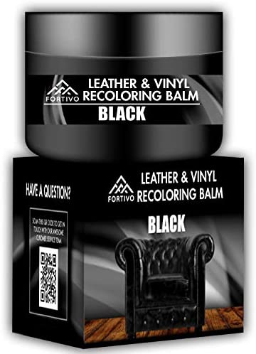 Best Black Leather Recoloring Balm - Leather Repair Kits for Couches - Leather Color Restorer for Furnitu