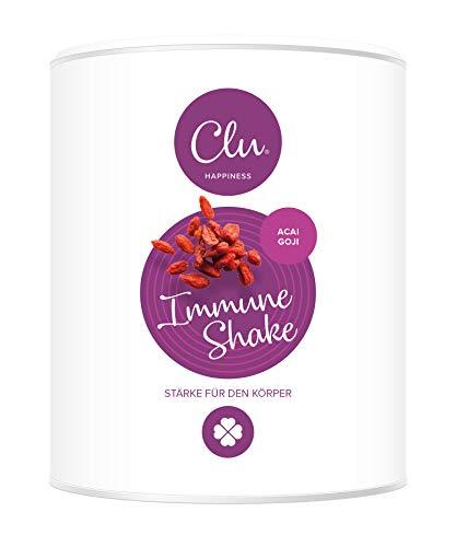 Clu Immune Shake mit Vitamin D & Superfoods für ein gesundes Immunsystem | Immun Boost zum Trinken mit Mineralien und Spurenelemente für den Energiestoffwechsel, Immunsystem Stärken - 30 Portionen