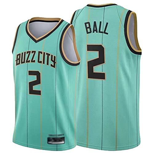 JFGJ Bāll #2 - Gilet da basket classico, senza maniche, comodo e traspirante, nero (S-2XL) verde-XL