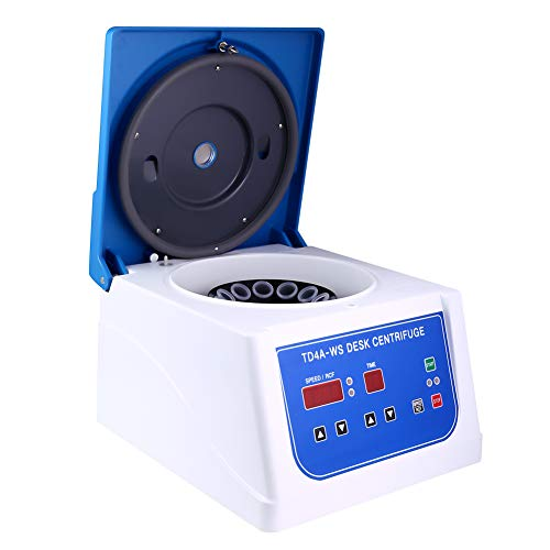 PRP Centrifuge Lab Desktop Centrifuge with 12x15ML Place Rotor, 110 V Variable Speed 500-4,000 RPM,90 Min Timer