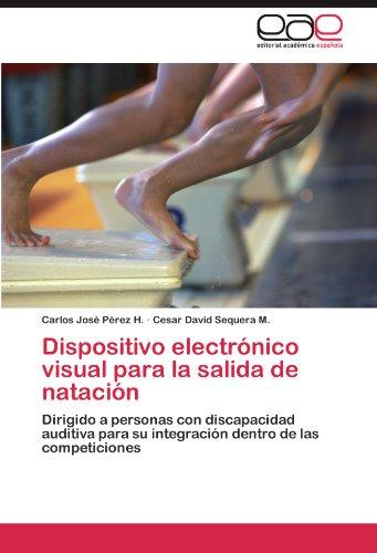 Dispositivo electrónico visual para la salida de natación