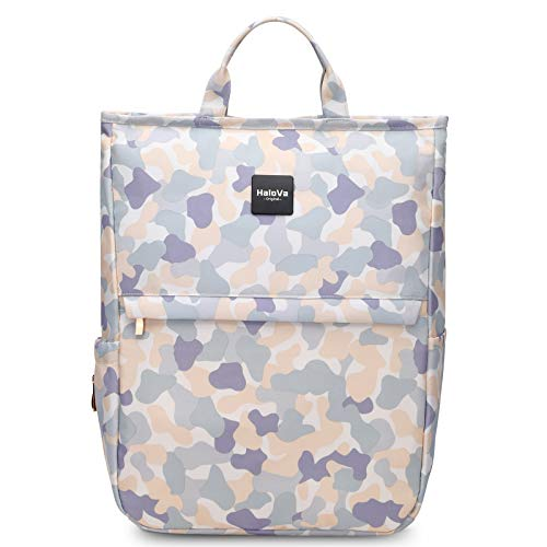 HaloVa Diaper Bag Multi-Function Waterproof Lightweight Travel Backpack Nappy Bags for Baby Care, Large Capacity, Stylish and Durable (Camouflage)