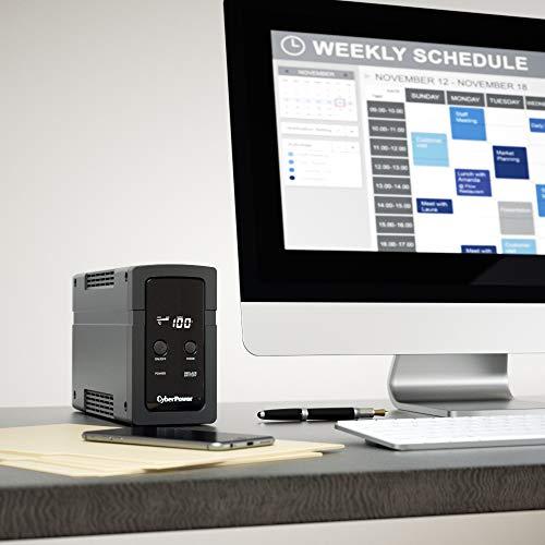 『CyberPower 無停電電源装置 (ラインインタラクティブ給電/正弦波出力) 500VA/300W CPJ500』のトップ画像