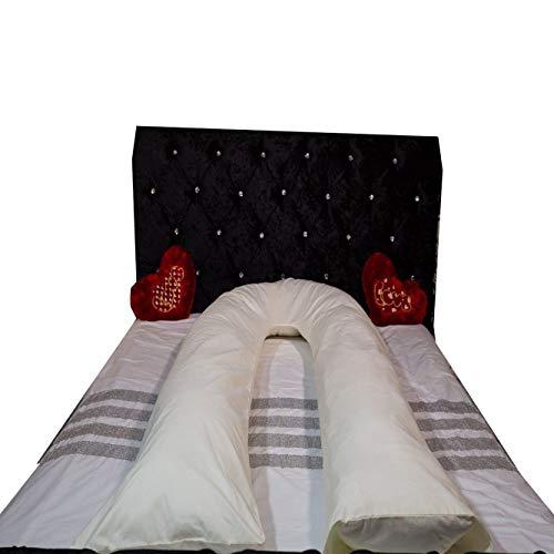 9 Ft Big U Shape Body, Back Support Maternity Pregnancy Pillow, Sleep Aid Hollow Fibre Filled U-Pillow