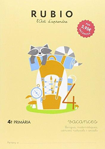 Ediciones Técnicas Rubio - Editorial Rubio Vacances RUBIO 4t Primària (català): 5 (Vacances RUBIO (català))