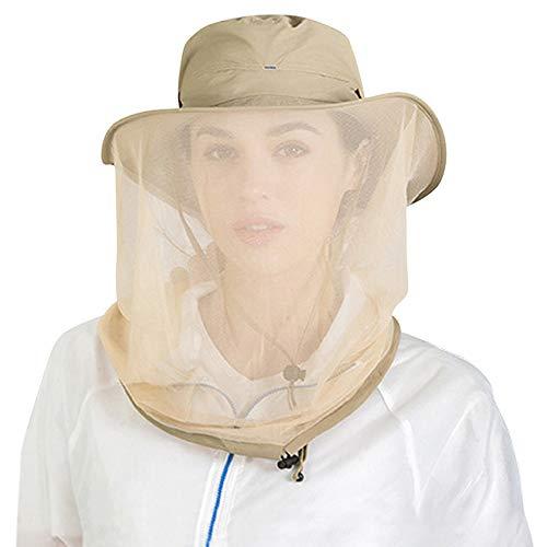 Peicees - Angel-Kopfbedeckungen in khaki, Größe Einheitsgröße