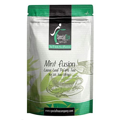 Special Tea Company Mint Fusion Organic Black Tea, Loose Leaf 16 oz.
