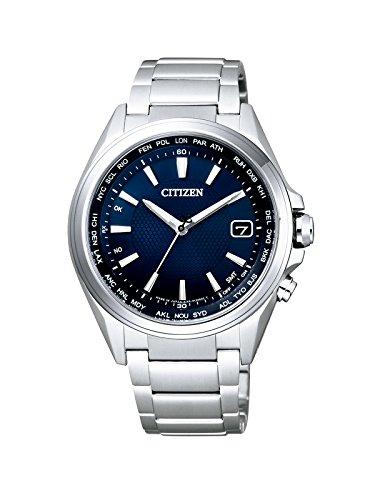 Citizen–Reloj de Pulsera para Hombre Radio Controlled analógico de Cuarzo Titan cb1070–56L