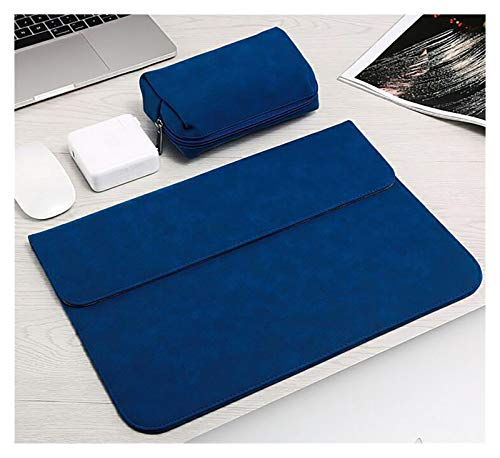 WSY Sleeve Bag Laptop Case For Macbook Air Pro M1 13 15 11 12 16 A2179 For XiaoMi Notebook Cover For Huawei Matebook X 14 Shell (Color : Navy Blue, Size : A1708 A1706 A1989)