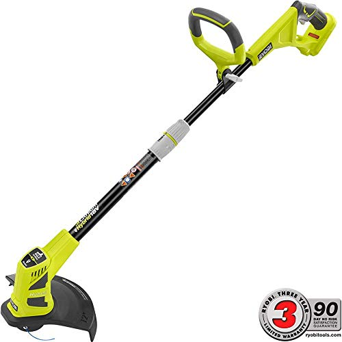 Best Price ONE+ 18-Volt Lithium-Ion Hybrid Electric Cordless String Trimmer/Edger - Battery and Char...