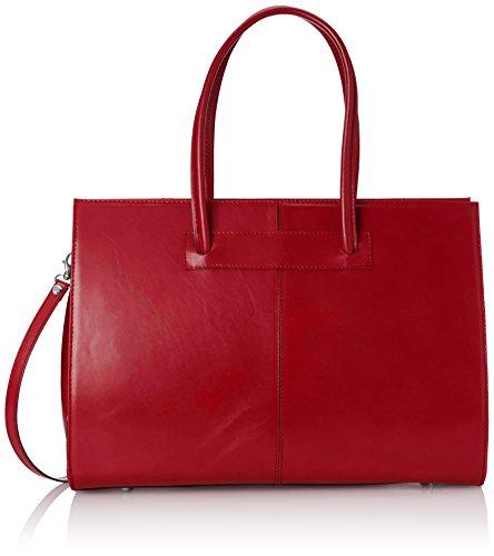 Chicca Borse D9008 Borsa a Mano, 40 cm, Rosso