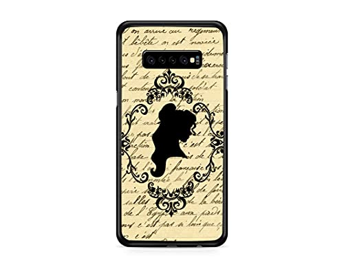 Kaidan Samsung Galaxy Note 9 10 20 S10 S9 S8 Book Page S21 Ultra S20 FE Princess Belle S10e Fairy Tale Case iPhone 6S 6 Beauty SE 2020 XR X XS Beast 13 Pro Max 11 12 Mini 8 7 Compatible with appd628