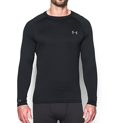 Under Armour UA Base 1.0 Crew Black/Steel 3XL