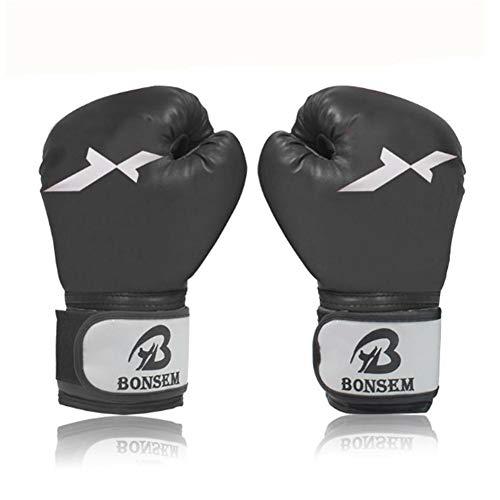 Schwarze Boxhandschuhe Für Männer, Frauen Und Jugendliche Boxsack, Kickboxen, Muay Thai, MMA, Sparringhandschuhe, Schwere Taschenhandschuhe Für Das Boxen