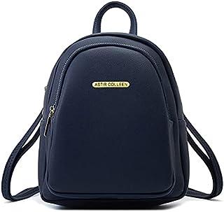 ASTIR COLLEEN Leather Women/Girls Sling Bag Cum Backpack (Big-Pocket) (Blue)