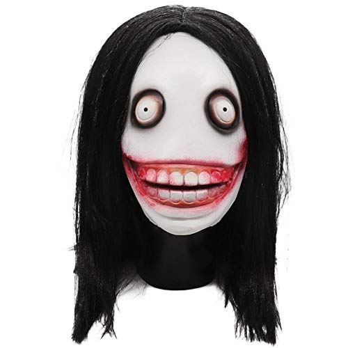 duhe189014 Creepy Killer Adult Mask Standard, Jeff Killer Kids Monster City Legend Costume