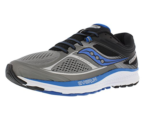 Saucony Men's Guide Running Shoes, Grey Black, 10 W US