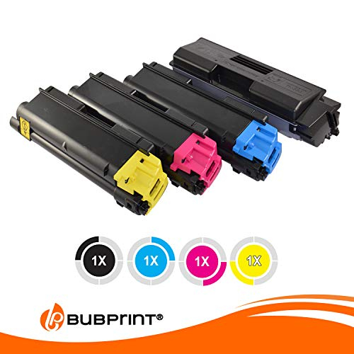 4 Bubprint Toner kompatibel für Kyocera TK-590 für Ecosys M6526CDN P6026CDN M6026CDN M6026CIDN M6526CIDN FS-C2026MFP FS-C2026MFP plus FS-C2126MFP