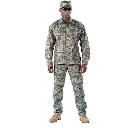 Rothco BDU Uniform Set - ACU Digital Camo - XLRG