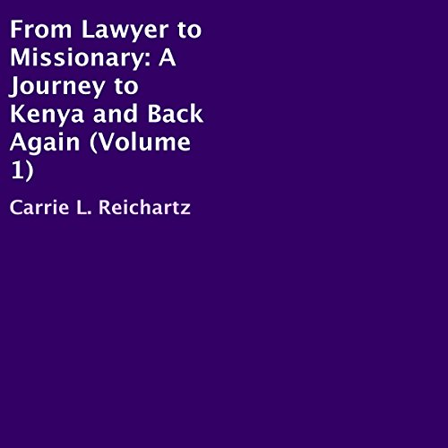 From Lawyer to Missionary audiobook cover art