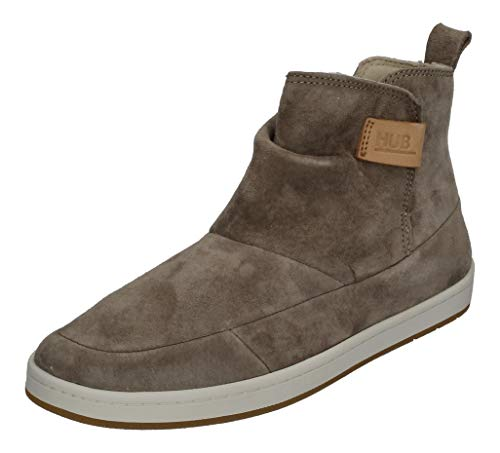 Hub Serve N30 Soft Nubuck Dark Taupe Off White Dark Gum, Dark Taupe Off White Dark Gum, 38 EU