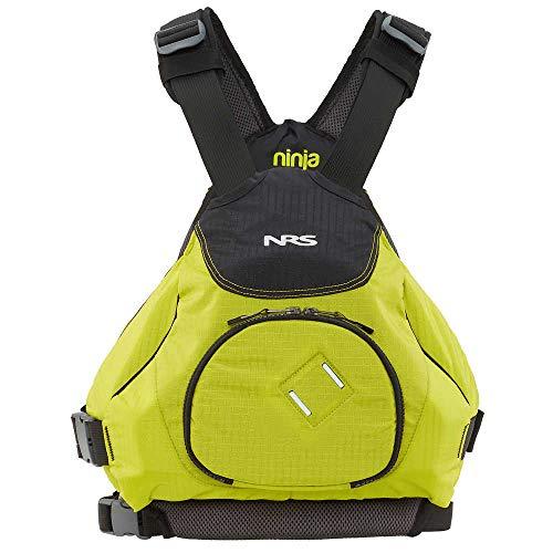 NRS Ninja Kayak Lifejacket (PFD)-Lime-L/XL