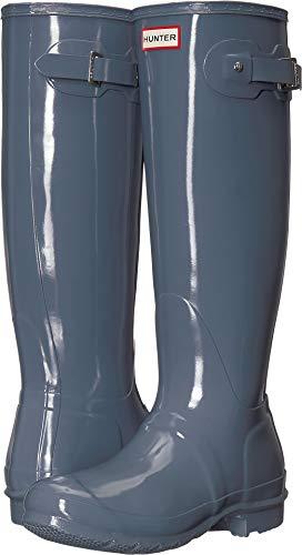 HUNTER Original Tall Gloss Gull Grey 7