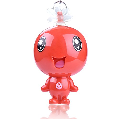 130DB Emergency Personal Safety Alarm Keychain,Self Defense Electronic Security Whistle Keyring Ornament,Azan Alarm,Japanese Lovely Doll Shaped Security Siren Song Voice Scream Safe Protection Alarm