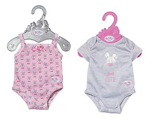 Zapf Creation 827536 BABY born Babybody Puppenkleidung 43 cm, 1 Stück - Farbe nach Vorrat