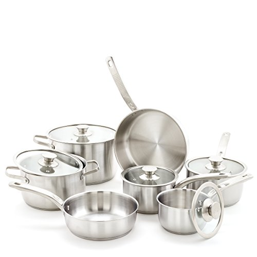 Old Dutch 12 Pc. Stainless Steel Cookware Sets