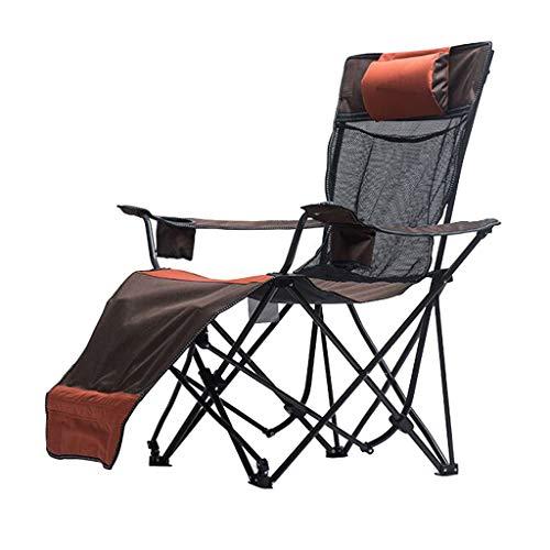 Chaises de pêche Chaise De Plage Chaise Longue De Dossier Chaise De Metteur en Scène Chaise Longue Pliante pour Extérieur Peut Supporter 150 Kg Cadeau