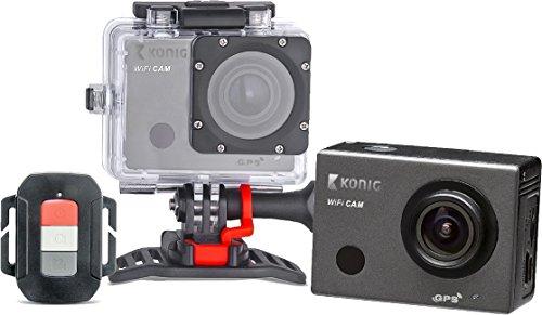 König CSACWG100 Full HD Action-Kamera mit GPS und WLAN