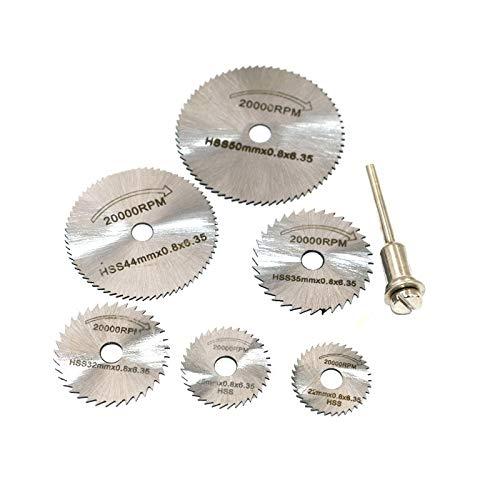 DollaTek - Juego de herramientas de amoladora eléctrica de acero de alta...