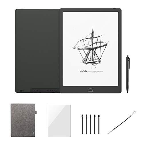 BOOX Max3 13.3 Pulgadas Lector e-Book Negro, HD Andoid9.0 E-Ink 64GB OTG Wi-Fi BT con Pluma Funta Punta
