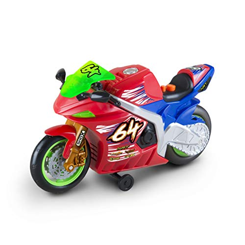 MPA Sales Nikko Toys Wheelie Bikes - Nitro Race Bike, Multi, Model Number: 20031