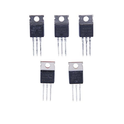 5pcs N-Channel Power MOSFET IRF830 5A 500V Package TO-220AB