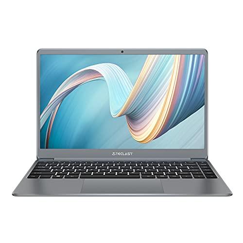 TECLAST F7 Plus 2 Ordenador Portátil 14.1' Laptop 8GB RAM 256GB SSD (Más de 1TB Expandible) 2.6 GHz Quad Core Intel Gemini Lake N4120, FHD 1920×1080, Intel UHD Graphics 600, 5G WiFi, Windows 10
