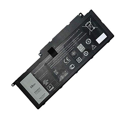 Trconelectron Notebook Replacement F7HVR Battery for Dell Inspiron 15 5547 7000 7437 7537 17 7737 Series G4YJM T2T3J