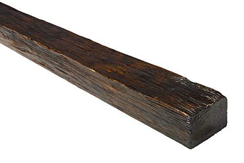 2 Meter | Balken | PU | Holzoptik | Deco Wood | 90x60mm | ED107.D