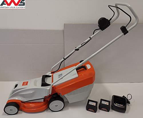 STIHL 63112000010VC - Tosaerba a batteria RMA 235, 2 batterie incluse AK20 e caricatore AL101