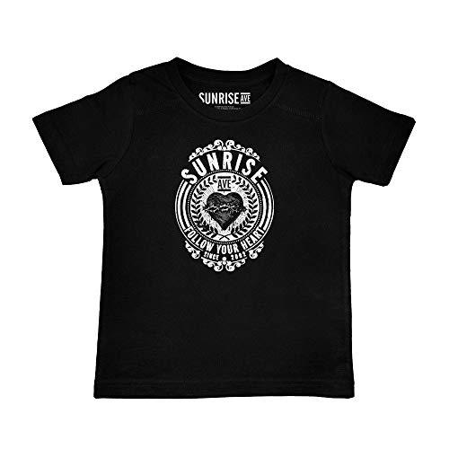 Metal-Kids Sunrise Avenue (Follow Your Heart) - Kinder T-Shirt, schwarz, Größe 152 (12-13 Jahre), offizielles Band-Merch