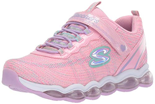 Skechers Laufschuhe Mädchen, Color Pink, Marca, Modelo Laufschuhe Mädchen Glimmer Lights Pink