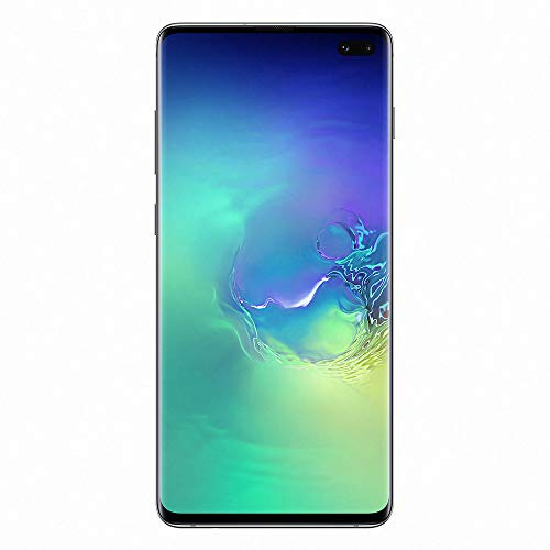 "Samsung Galaxy S10+ Smartphone, 128GB, Display 6.4"", Dual SIM,  Verde (Prism Green) [Altra Versione Europea]"